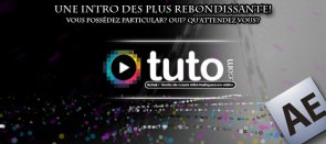 Tuto Un introduction pleine de rebonds sous Particular After Effects