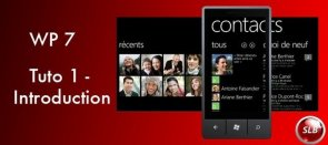 Tuto Windows Phone 7 - Introduction Windows Phone