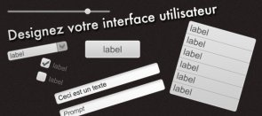 Tuto Designer des composants d'interface Photoshop