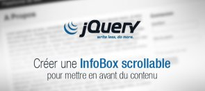 Tuto Créer une InfoBox scrollable jQuery