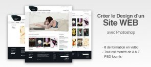 Tuto Design de Site Web Photoshop
