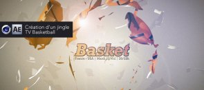 Tuto Création d'un jingle TV Basketball Cinema 4D