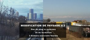 Tuto Modification de paysage Volume 2 After Effects