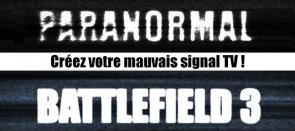 Tuto Mauvais signal TV (Battlefield 3) After Effects