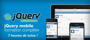 Tuto jQuery mobile : créer des sites et apps mobiles jQuery Mobile