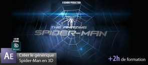 Tuto Créer le générique de Spider-Man en 3D After Effects