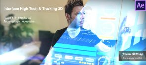 Tuto Interface High Tech et Tracking 3D After Effects