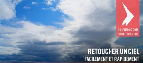 Tuto Retoucher un ciel facilement Photoshop