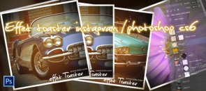 Tuto Effet toaster Instagram Photoshop
