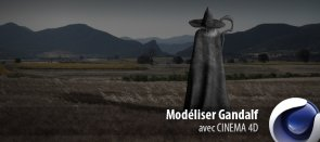 Tuto Modéliser Gandalf Cinema 4D