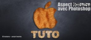 Tuto Aspect fourrure Photoshop