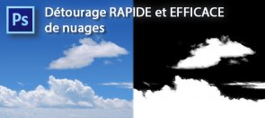 Tuto Détourage EFFICACE et FACILE de nuages Photoshop