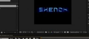 Tuto Effet Shine After Effects