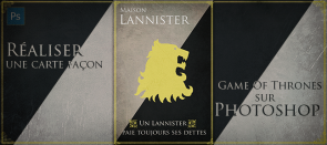 Tuto Réaliser une carte à la façon de Game Of Thrones Photoshop