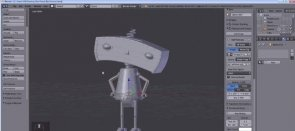Tuto Modéliser le Bad Robot Blender
