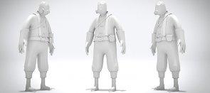 L'animation de personnage 3d requiert patience et sens du rythme. De nombreux ajustements subils sont nécéssaires pour animer des personnages en 3D : un personnage 3d conçu avec assez d'expressions de visage : l'animation est crée avec des transitions