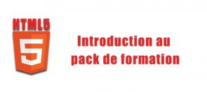 Tuto Introduction au pack de formation HTML