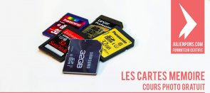 Tuto Cours photo gratuit : cartes mémoires Photo