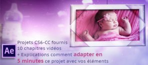 Tuto Galerie photos bébé After Effects