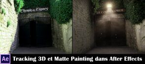 Tuto Tracking 3D et Matte Painting dans After Effects After Effects