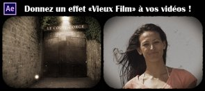 Tuto Effet vieux film After Effects