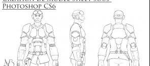 Tuto Création de Model Sheet de personnage sous photoshop Photoshop