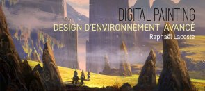 Tuto Digital Painting Avancé : Design d'environnement complet Photoshop