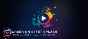Tuto Créer un effet splash dans After Effects After Effects