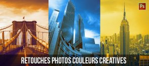 Tuto Gratuit : Retouche photo couleurs créatives Photoshop