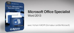 Tuto Formation Certification MOS Word 2013 Word