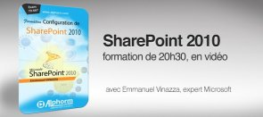 Tuto Formation Configuration de SharePoint 2010 SharePoint