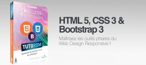 Tuto Formation HTML5, CSS3, Bootstrap3 & Responsive Design Bootstrap