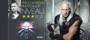 Tuto Montage graphique Photoshop : The Witcher Photoshop