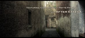 Tuto Texturing - Matte Painting - Compositing sur After Effects After Effects