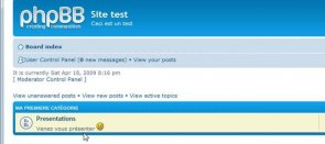 Tuto Customisation de PHPBB Php