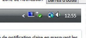 Tuto Une zone de notification sur mesure Windows