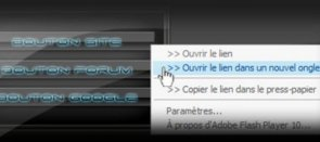 Tuto Flash : Menu contextuel avancé Flash