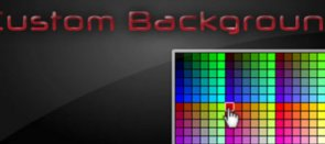 Tuto Background avec couleur modifiable Flash