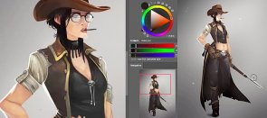 Tuto L'Art du Character Design sous Photoshop Photoshop