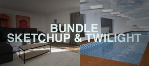 Tuto Bundle Sketchup et Twilight Render Sketchup