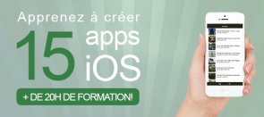 Tuto Créez 15 applications iPhone avec Swift Swift