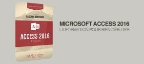 Tuto Access 2016 : la formation d'initiation Access