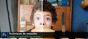 Tuto Retouche photo : Dodge and burn et lissage de peau Photoshop