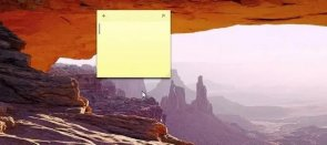 Tuto Afficher des notes sur le Bureau Windows