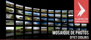 Tuto Mosaïque de photos façon Cooliris Photoshop