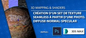 Tuto Set de Textures Seamless à partir d'une photo 3ds Max