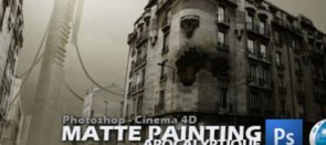 Tuto Matte Painting Apocalyptique Photoshop