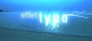 Tuto Effet typo After Effects