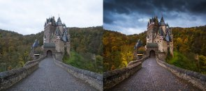 Tuto Retoucher une photo de paysage automnal Lightroom