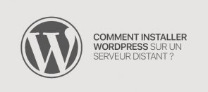 Tuto Gratuit : Comment installer WordPress sur un serveur distant WordPress